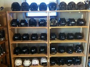 HOCKEY HELMETS & QUALITY USED SKATES ALL UNDER ONE ROOF !
