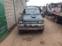 Mitsubishi l200 4x4 pickup headlight breaking for parts spares