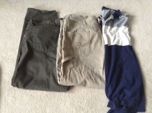 2 men's pants size 42 , one shirt size 2xl