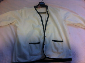 Large white cardigan for sale