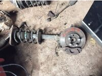 Fiat scudo front hub and strut