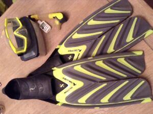 Scubapro snorkeling set