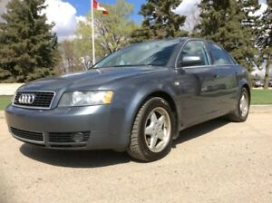 2005 Audi A4, PREMIUM, AUTO, AWD, FULLY LOADED, LEATHER, ROOF!