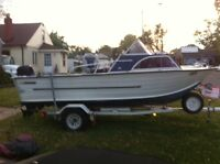 1974 Starcraft Chieftain great lakes fishing boat