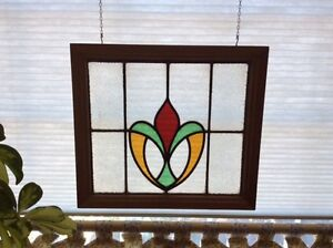 Stained glass window hangings
