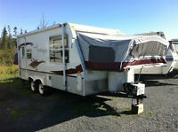 Reduced * Hybrid Travel Trailer