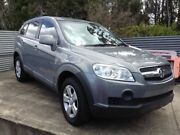 2009 Holden Captiva CG MY09 SX (FWD) Silver 5 Speed Manual Wagon Morayfield Caboolture Area Preview