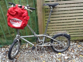 vintage collectable Dahon-Bickerton folding bicycle