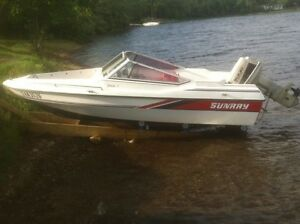 FOR SALE OR TRADE 14ft Sunray Bowrider