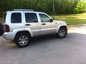 2006 Jeep Liberty leather SUV, Crossover