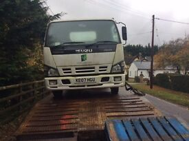 Isuzu NKR 77 turbo electric di wheel nut - breaking whole truck for spares parts