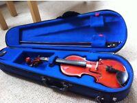 Stentor 1 violin 1/8 size