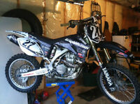 Competition YZF450 with lots of extras
