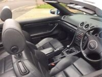 Audi A4 convertible swap