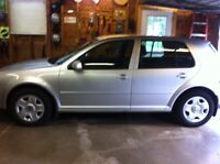 2008 Volkswagen Golf, mint condition, only 80000km's