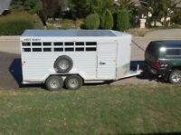 2005 Hotshot 3-horse trailer