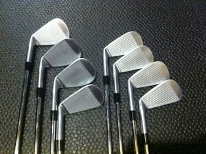 Forged RH Irons, 3-PW. KZG.