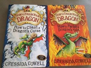 4 How to Train Your Dragon Books London Ontario image 2