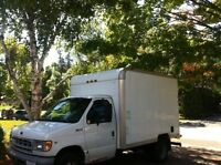DRIVER WITH CUBE VAN LOOKING FOR CONTRACT WORK