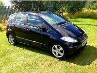 2008 MERCEDES-BENZ A CLASS A160 CDI AVANTGARDE SE MOT APRIL 17 HISTORY LEATHER GREAT CAR PX WEL