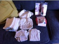 Reuseable Nappies - Motherease and Bambino Mio (unused)