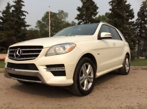 2012 Mercedes Benz ML350, DIESEL, AUTO, AWD, NAVI, LEATHER, ROOF