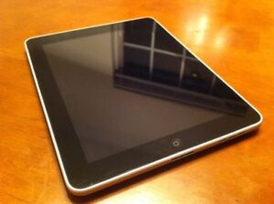 iPad 1st Gen 32 GB with dock and case