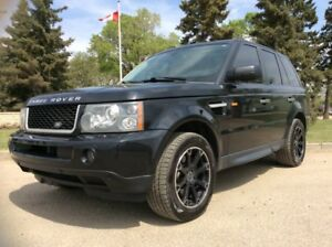 2006 Land Rover Range Rover Sport, HSE, AUTO, AWD, LEATHER, ROOF