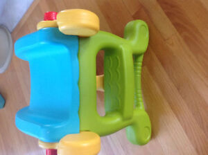 Rare find!Fisher Price 2 in1 Slide To Rocker Brand New Condition Strathcona County Edmonton Area image 2