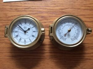 BARIGO MARINE CLOCK AND BAROMETER -  $95 Best