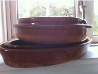 Nice earthenware pots from our Charity: Volunteer In The World