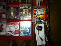 12 ps3 games plus board and dobble