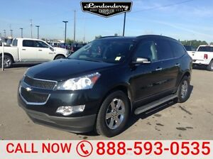 2010 Chevrolet Traverse AWD LT Accident Free,  3rd Row,  Sunroof