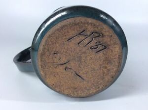 Signed Hansen-Ross / Don  1970's & '80's Glaze Pottery