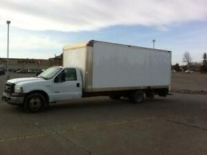 FOR SALE - 2005 FORD F350 WITH 20 FOOT BOX