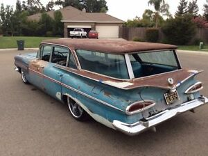 Looking for 1959 Chevy wagon