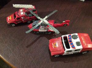 Emergency Vehicle Playset