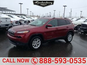 2016 Jeep Cherokee 4WD LATITUDE Back-up Cam,