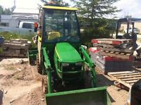 John Deere 1023e with Cab