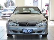 2003 Mercedes-Benz C180 CL203 Kompressor Silver 5 Speed Auto Tipshift Coupe Morley Bayswater Area Preview