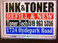 Ink and Toner brand new. We also Refill all brands Color/Bk