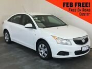 2011 Holden Cruze JH SERIES II MY CD White 6 Speed Sports Automatic Sedan Mount Gambier Grant Area Preview
