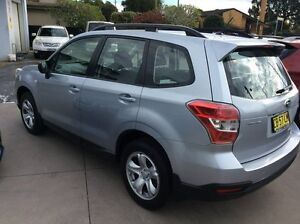 2014 Subaru Forester MY14 2.5I Ice Silver Continuous Variable Wagon Glenthorne Greater Taree Area Preview