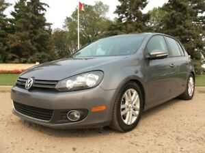 2011 Volkswagen Golf, DIESEL, HIGHLINE-PKG, 6/SPD, LEATHER/ROOF!