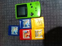 Gameboy Color and Pokemon Games