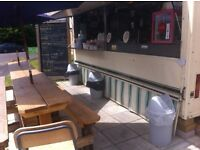Catering trailer and pitch for sale in Ringwood, Hampshire