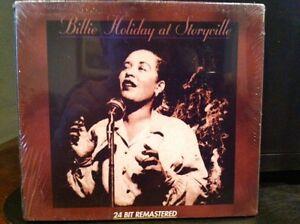 BILLIE HOLIDAY AT STORYVILLE NEW, SEALED CD - 24 BIT REMASTERED XLNT JAZZ/BLUES