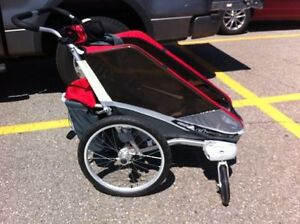 Chariot Cougar 2 double stroller.