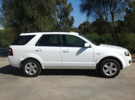 2010 Ford Territory SY Mkii TX (RWD) White 4 Speed Auto Seq Sportshift Wagon Seabrook Hobsons Bay Area Preview