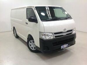 2012 Toyota Hiace TRH201R MY11 LWB White 4 Speed Automatic Van Edgewater Joondalup Area Preview